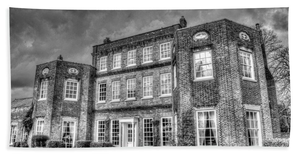 Colour Hand Towel featuring the photograph Langtons House England by David Pyatt