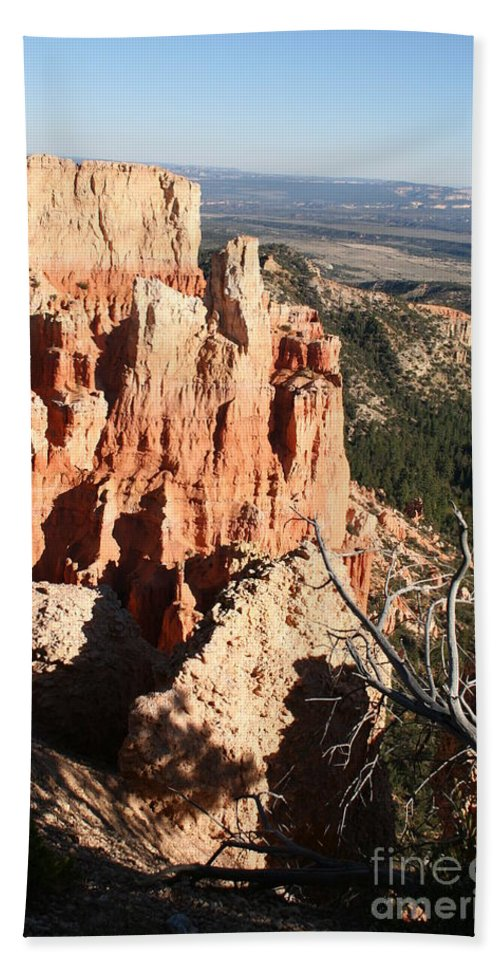 Canyon Bath Sheet featuring the photograph Bryce Canyon by Christiane Schulze Art And Photography
