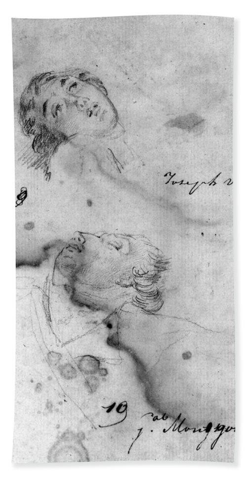 18th Century Hand Towel featuring the photograph Joseph Warren (1741-1775) by Granger