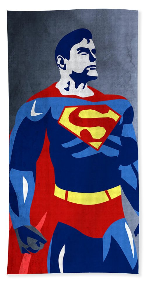 Superman Bath Towel