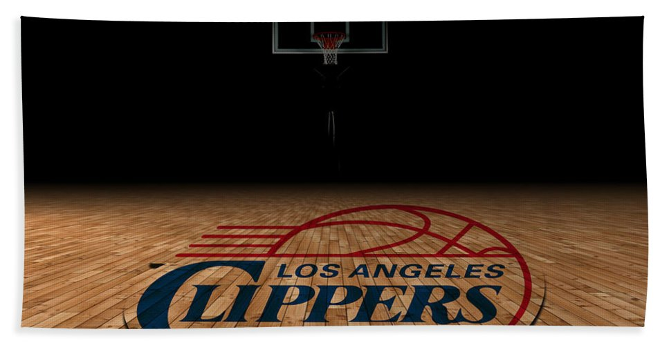 Clippers Bath Sheet featuring the photograph Los Angeles Clippers by Joe Hamilton