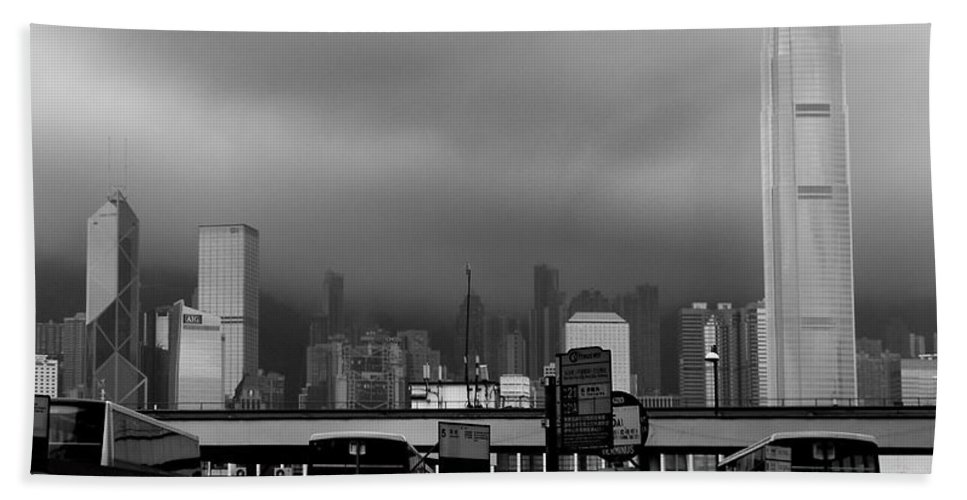 Hong Kong Bath Sheet featuring the photograph A Different Perspective by Venetta Archer