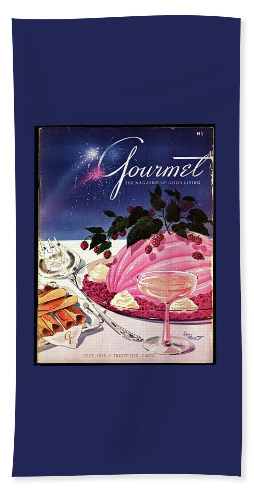 A Gourmet Cover Of Mousse Bath Towel