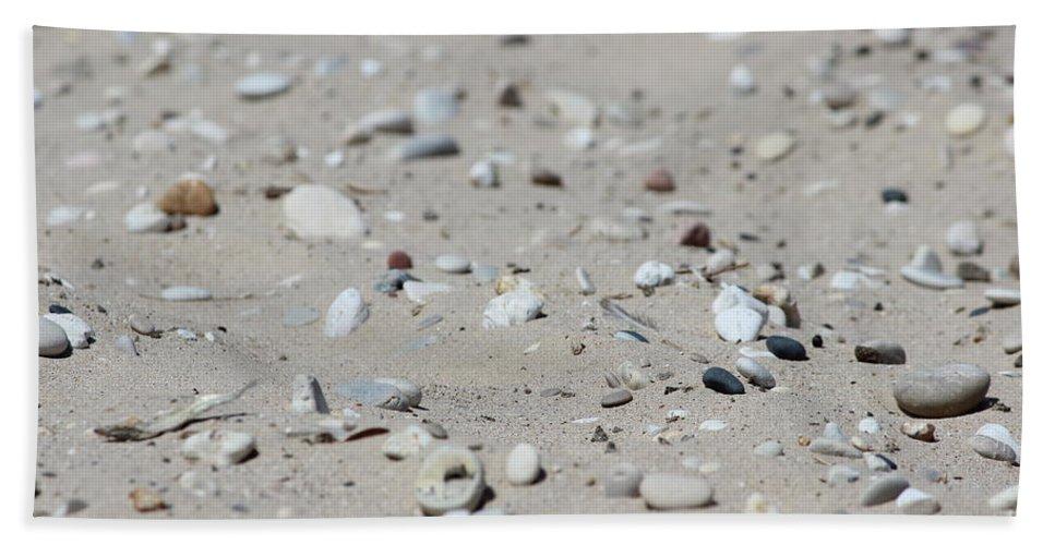 Beach Bath Sheet featuring the photograph A Little Rocky by Tiffany Erdman