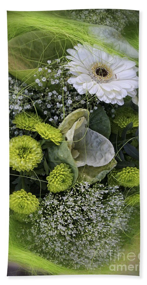 Flowers Hand Towel featuring the photograph A Lot Of Green by Timothy Hacker