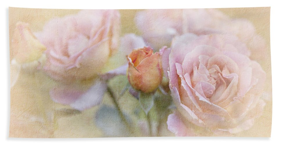 Blossoms Hand Towel featuring the photograph A Rose By Any Other Name by Theresa Tahara