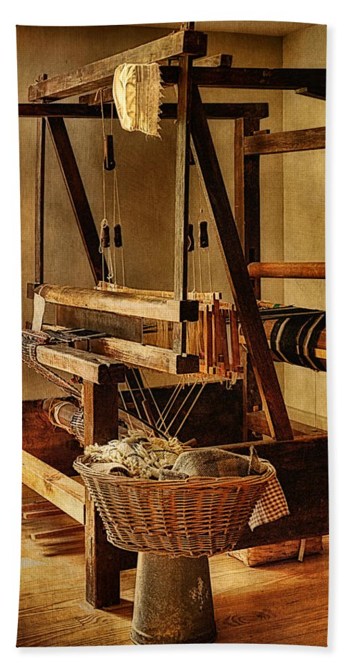 Hale Farm And Village Bath Sheet featuring the photograph A Tangled Web by Priscilla Burgers