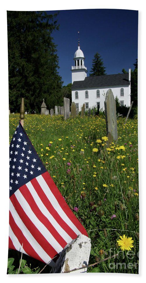 Country Hand Towel featuring the photograph A Veteran's Scene by Karol Livote