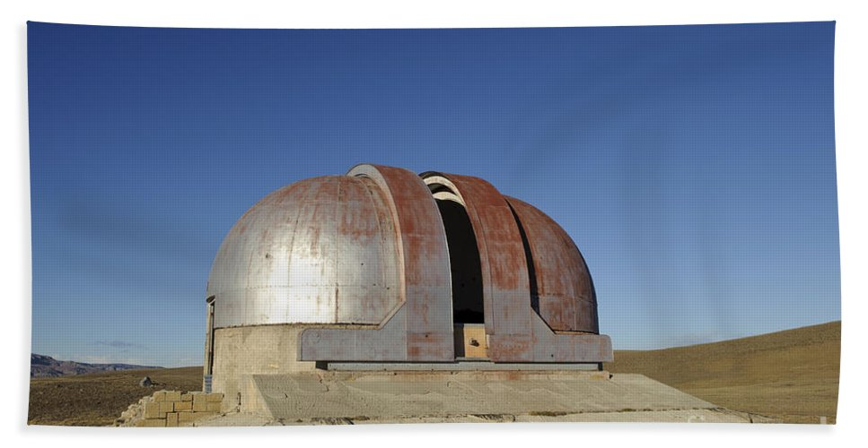 Argentina Bath Sheet featuring the photograph Abandoned Observatory by John Shaw