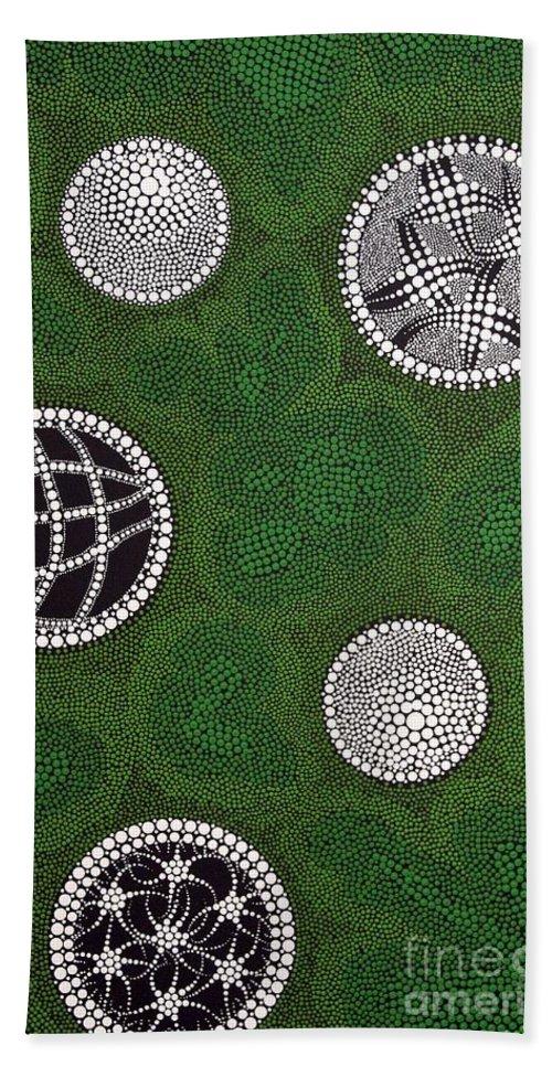 Art Hand Towel featuring the painting Sold by Mariusz Czajkowski