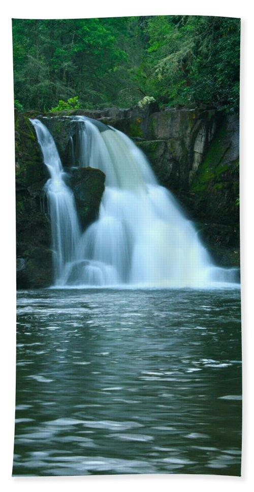 Abrams Falls Bath Sheet featuring the photograph Abrams Falls by Nunweiler Photography