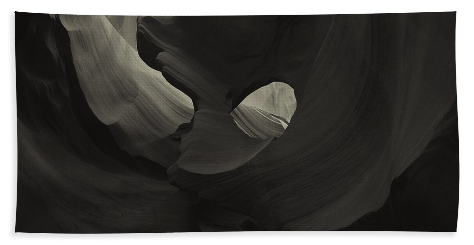 Abstract Hand Towel featuring the photograph Abstract 1 by Ingrid Smith-Johnsen