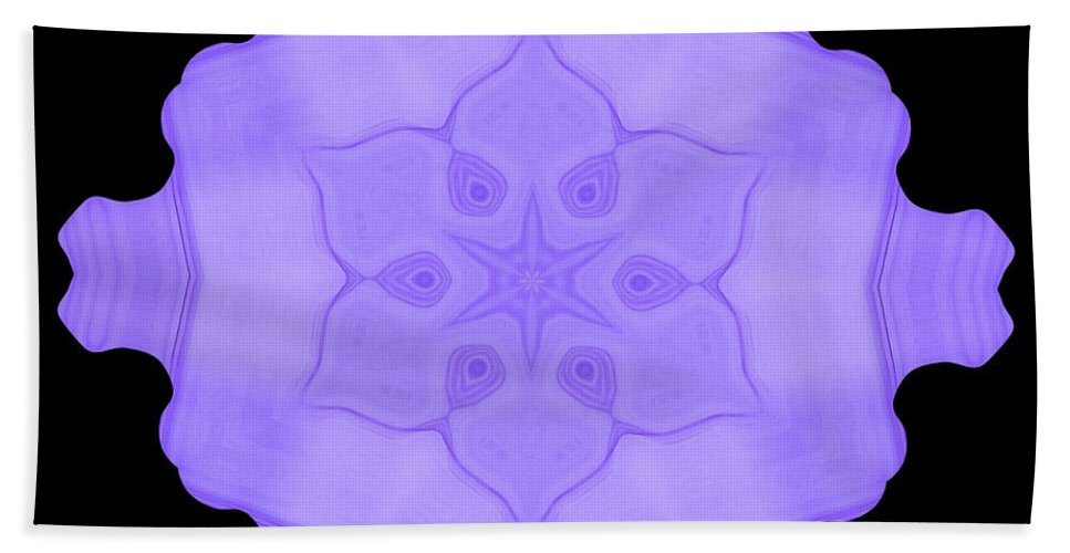 Original Hand Towel featuring the painting Abstract 103 by J D Owen