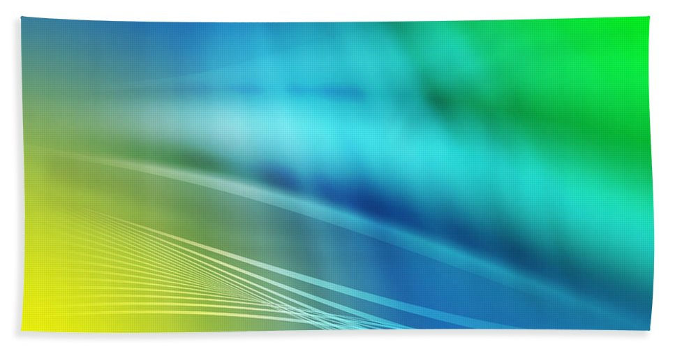 Abstract Hand Towel featuring the photograph Abstract Background by Paulo Goncalves