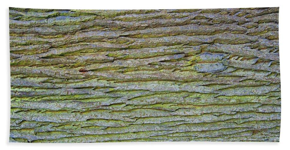 Old Bath Sheet featuring the photograph Abstract Oak by Antony McAulay