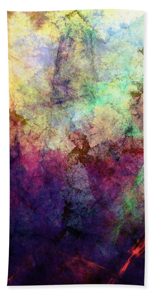 Fine Art Hand Towel featuring the digital art Abstraction 042914 by David Lane