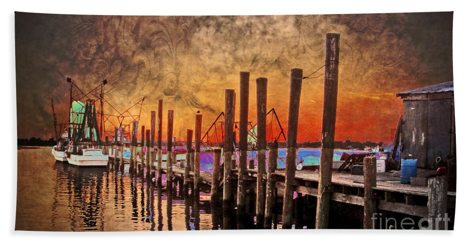 North Carolina Hand Towel featuring the photograph Acid Washed by Kelley Freel-Ebner