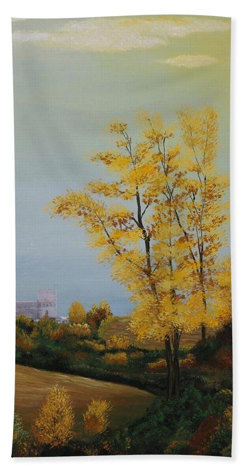 Originals Bath Sheet featuring the painting Acrylic Msc 192 by Mario Sergio Calzi