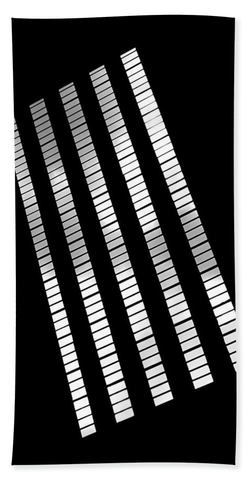Abstract Bath Towel featuring the photograph After Rodchenko 2 by Rona Black