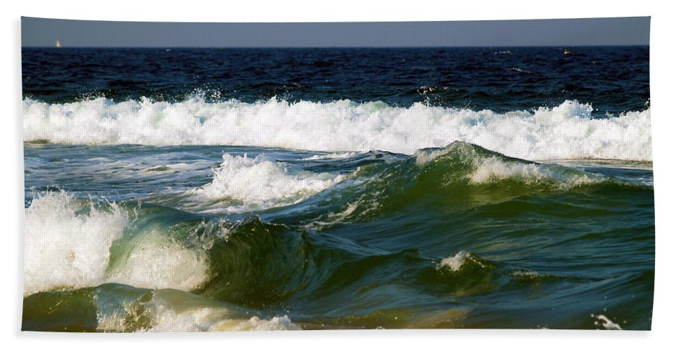 Fine Art Print Bath Sheet featuring the photograph Aftermath Of A Storm II by Patricia Griffin Brett