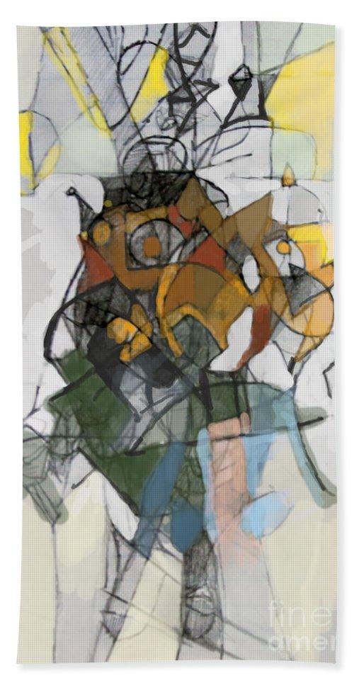 Torah Bath Sheet featuring the digital art Self-renewal 16d by David Baruch Wolk