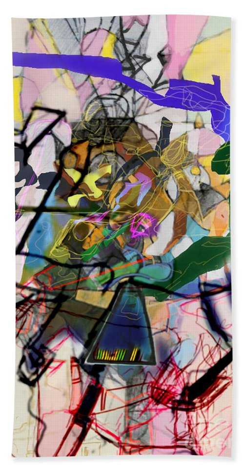 Torah Hand Towel featuring the digital art Self-renewal 16i by David Baruch Wolk