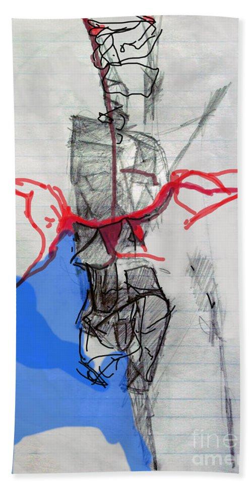 Torah Hand Towel featuring the digital art Self-renewal 21b by David Baruch Wolk
