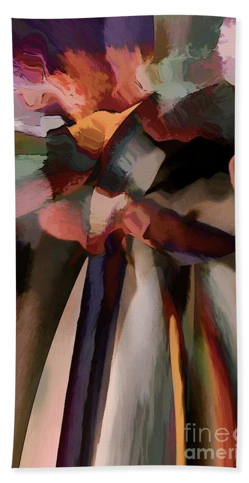 Hotel Art Hand Towel featuring the digital art Ahhh Harmony by Margie Chapman