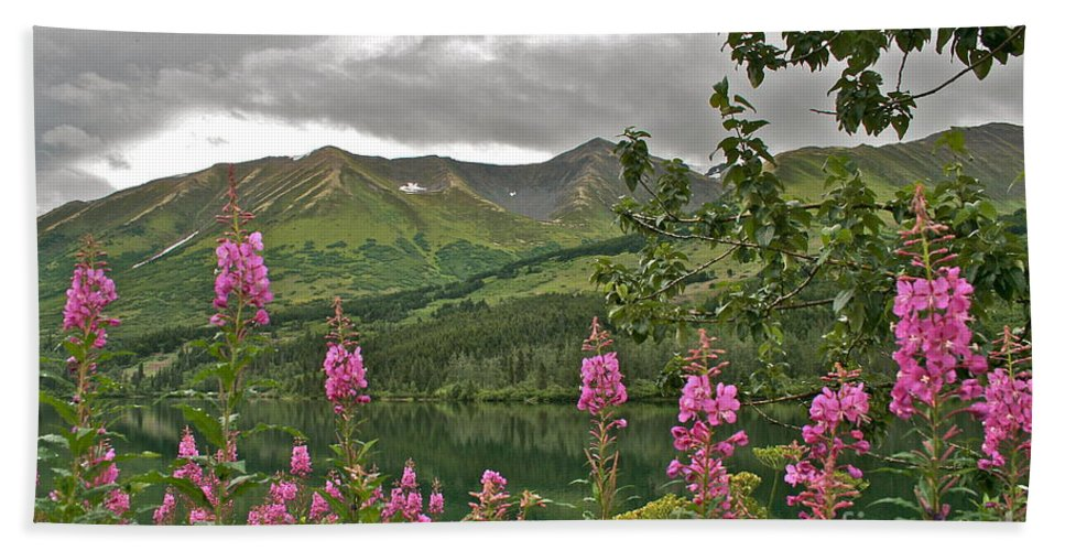 Alaska Bath Towel featuring the photograph Alaskan Summer by Rick Monyahan