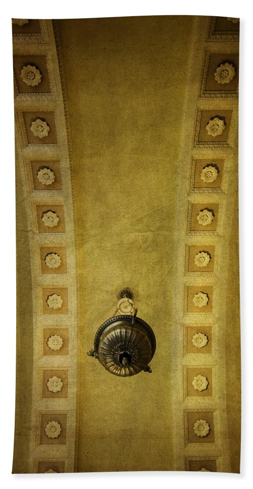 Alcove Bath Sheet featuring the photograph Alcove Light by Betty Denise