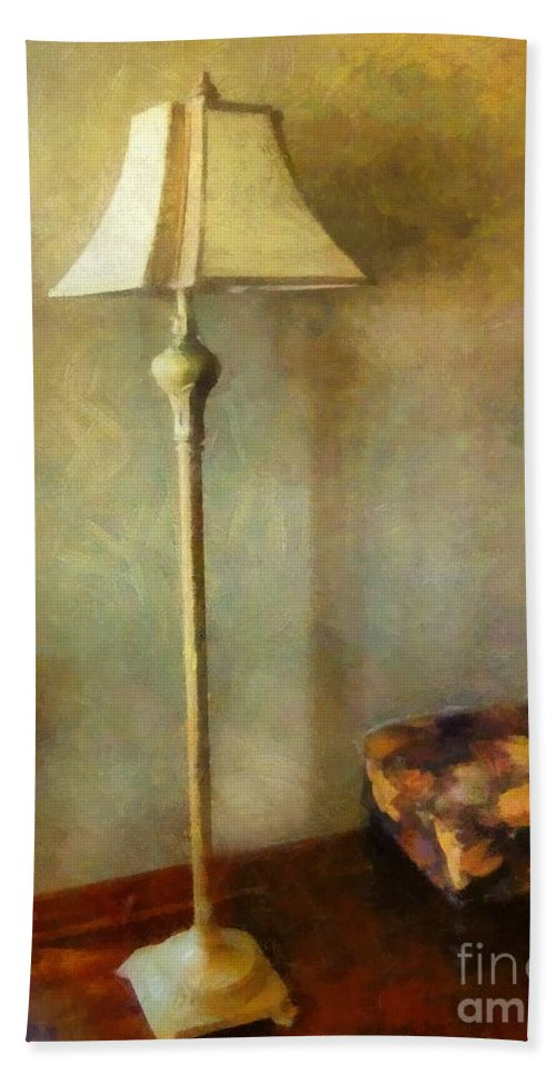Room Hand Towel featuring the painting All In The Golden Afternoon by RC DeWinter