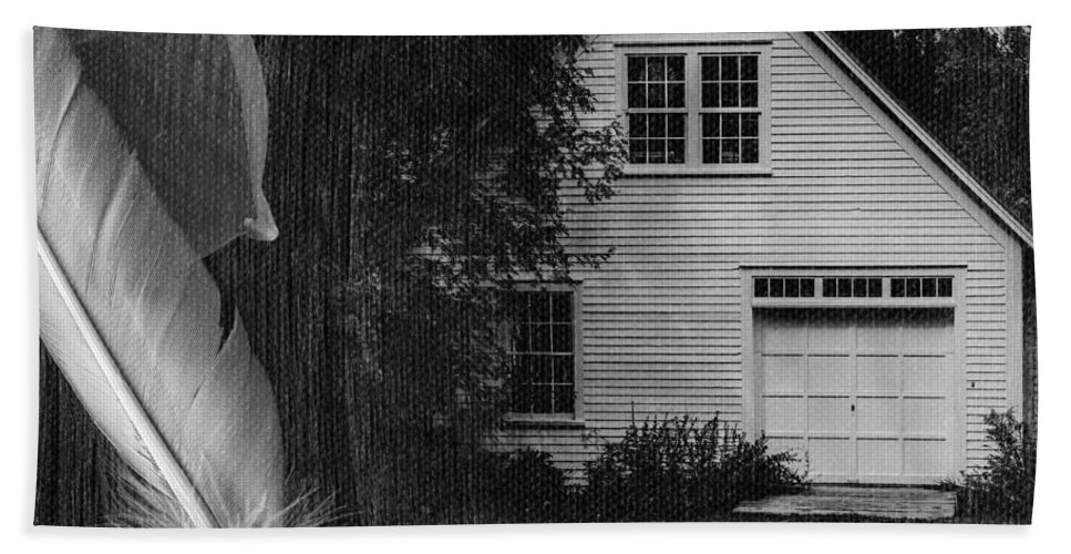 Square Bath Sheet featuring the photograph American Dream IIi Square by Edward Fielding