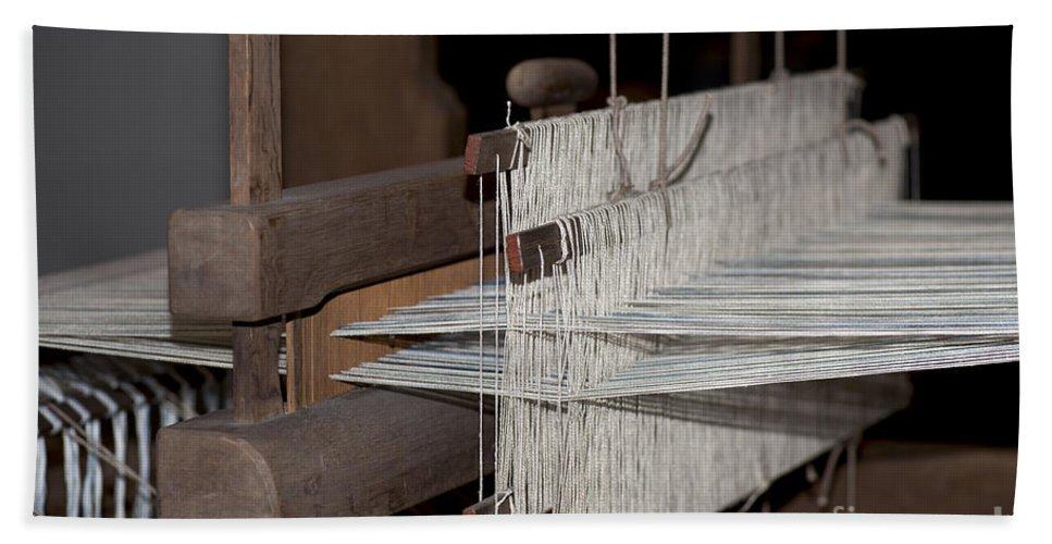 Vintage Loom Hand Towel featuring the photograph American Loom 1 Of 3 by Terri Winkler