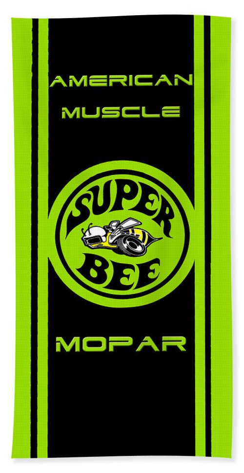 Vintage Hand Towel featuring the photograph American Muscle - Mopar by Sennie Pierson