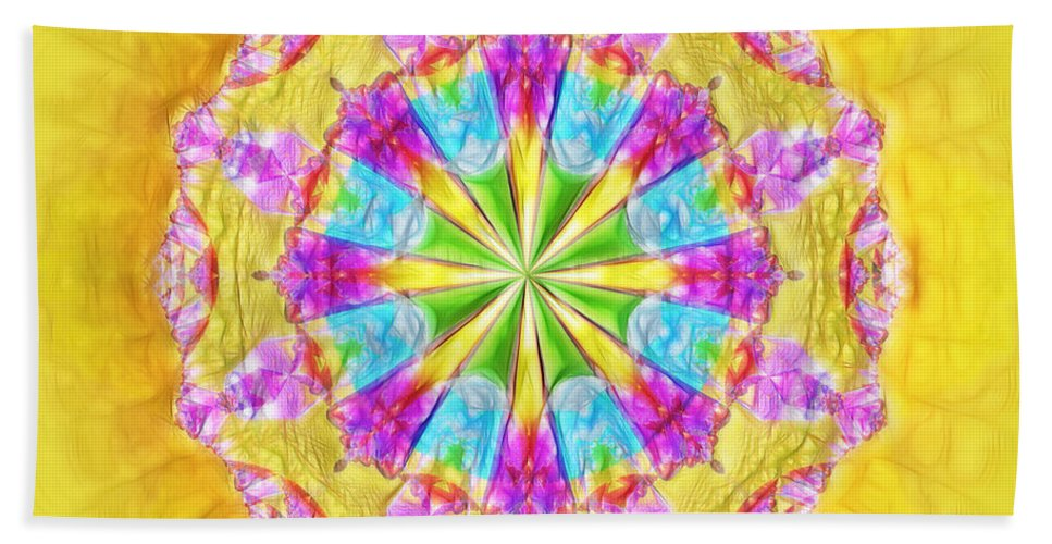 Ultra Fractal Bath Sheet featuring the digital art American Pudding by Mario Carini
