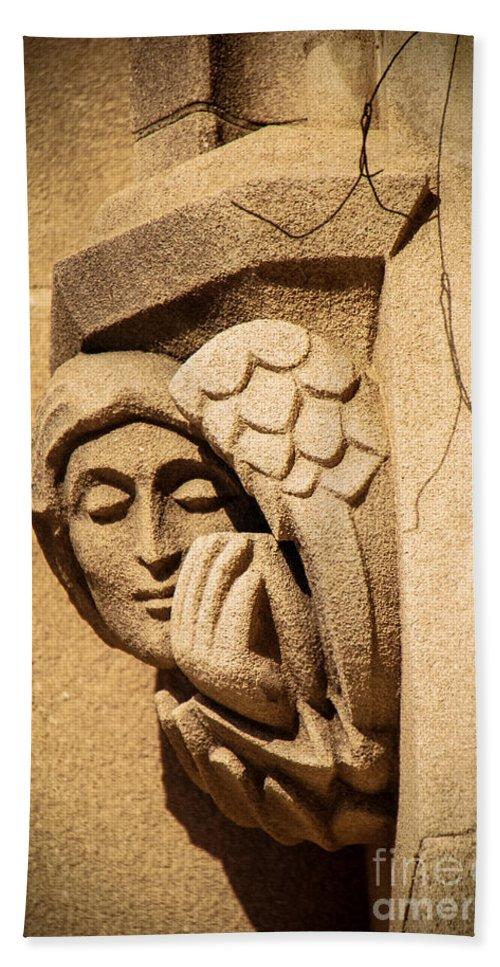 Outside Bath Sheet featuring the photograph An Outside Prayer by Grace Grogan