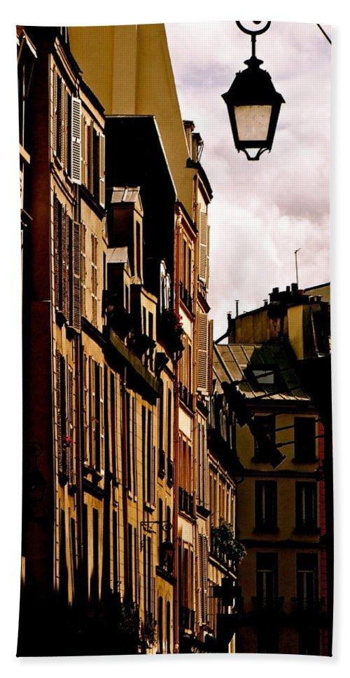 Left Bank Bath Sheet featuring the photograph Ancient Paris by Ira Shander