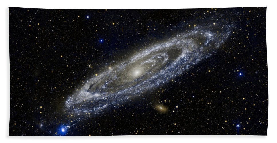 3scape Bath Towel featuring the photograph Andromeda by Adam Romanowicz