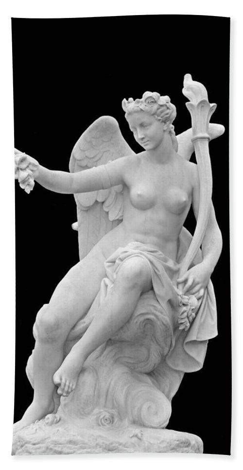 Angel Bath Sheet featuring the photograph Angel 2 by Kristin Elmquist