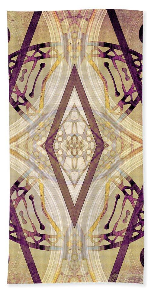Angel Hand Towel featuring the digital art Angel Wings 3 by Shawna Rowe
