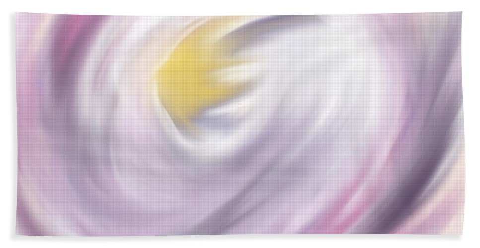 Digital Artwork Hand Towel featuring the digital art Angle Transformation by Laurie Pike