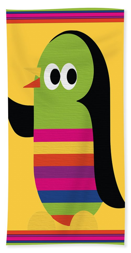Animal Hand Towel featuring the digital art Animal Series 1 by Angelina Vick