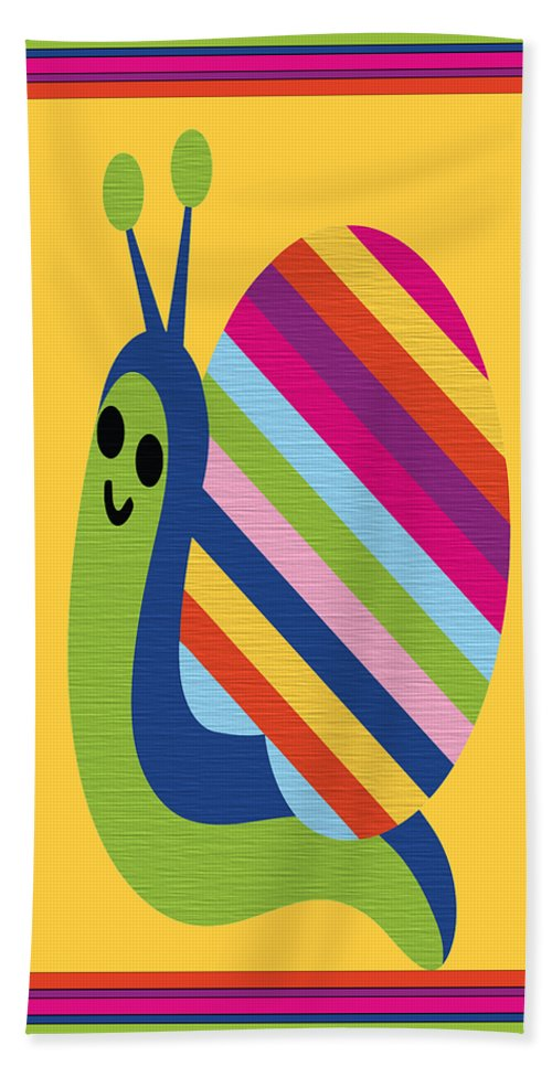 Animal Hand Towel featuring the digital art Animal Series 4 by Angelina Vick