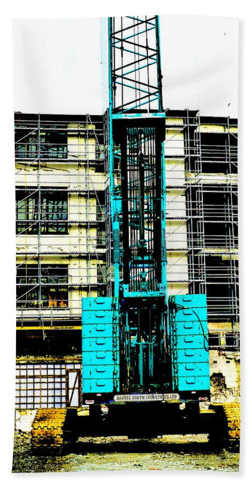 Crane Hand Towel featuring the photograph Another Blue Crane by Steve Taylor