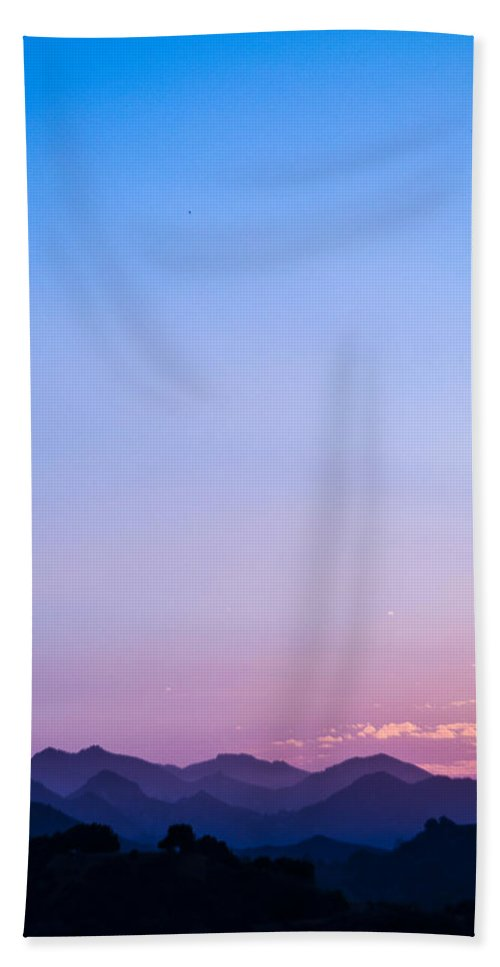 Mountains Bath Sheet featuring the photograph Another Solstice Gift From The Hills by Wasim Muklashy