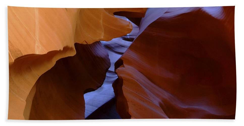 Antelope Bath Sheet featuring the photograph Antelope Canyon 40 by Ingrid Smith-Johnsen