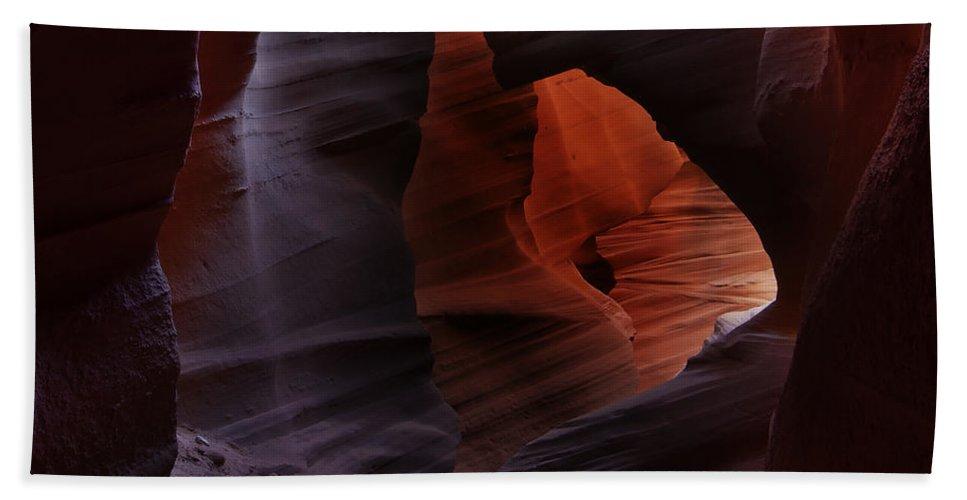 Antelope Bath Sheet featuring the photograph Antelope Canyon 34 by Ingrid Smith-Johnsen