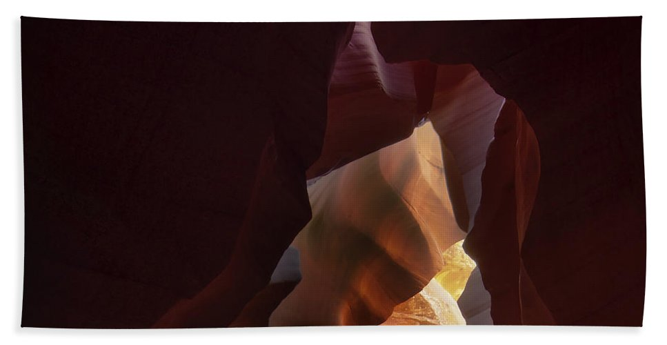 Antelope Bath Sheet featuring the photograph Antelope Canyon 33 by Ingrid Smith-Johnsen