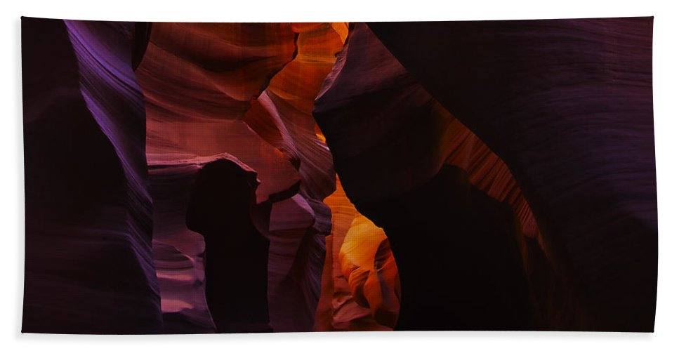 Antelope Hand Towel featuring the photograph Antelope Canyon 25 by Ingrid Smith-Johnsen