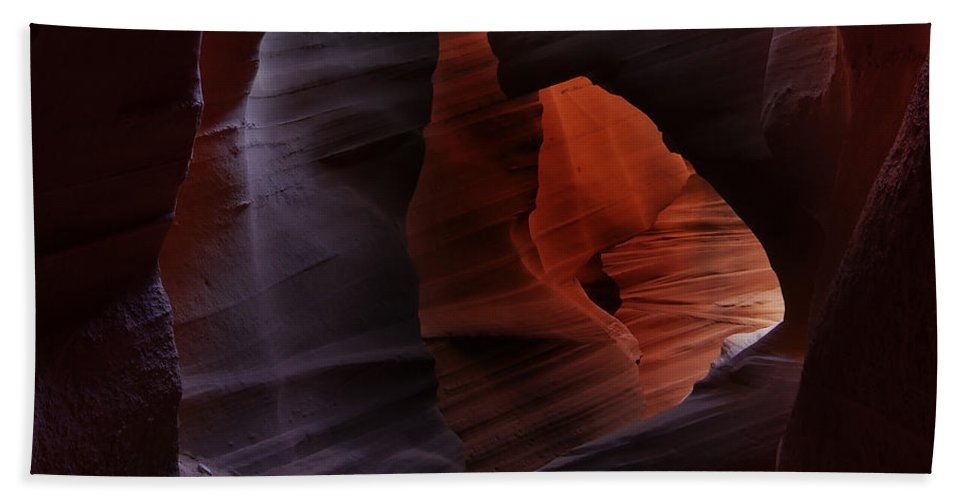 Antelope Hand Towel featuring the photograph Antelope Canyon 27 by Ingrid Smith-Johnsen